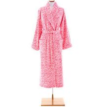 Pine Cone Hill Sheepy Fleece Leopard Pink Robe